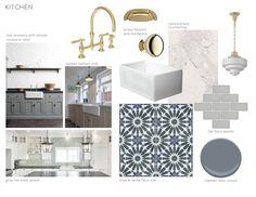 Modern Deco Kitchen Intro