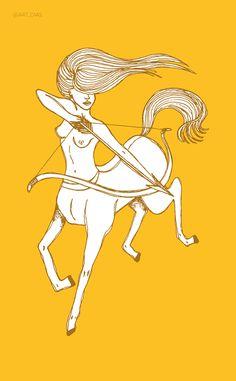 Frases típicas de cada signo: o que ele quer, como é e como irritá-lo Female Centaur, Sagittarius Art, Saggitarius, Wall Art Pictures, Mythical Creatures, Trippy, Dungeons And Dragons, Magick, Mini Albums
