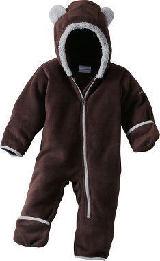Columbia® Infants' Tiny Bear™ Fleece Bunting : Cabela's