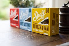 Skoff Pies #packaging #design  visit: http://circumbrand.com