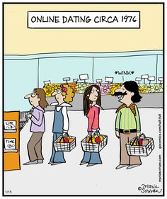 How online dating differs from
