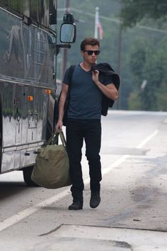 the new Footloose. he stepped off that bus like a boss.