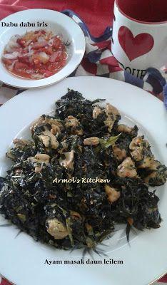 Resep Ayam Masak Daun Leilem Khas Manado Resep Ayam Resep Masakan Resep
