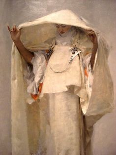 John Singer Sargent: Fumee d'ambre gris (Smoke of Ambergris) (detail), 1880. The Sterling and Francine Clark Art Institute, Williamstown, Massachusetts