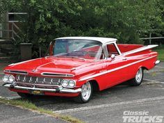 View this 1959 Chevy El Camino Bed Photo 2. Dan Turner's 1959 Chevy El Camino turned into a three-year long overhaul, but with help from his friends and his past experience, it turned out beautifully.