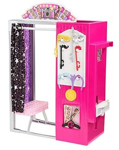 Barbie Kiosk Photo Booth by Mattel - Toy Sale Mattel Barbie, Barbie Dolls Diy, Doll Clothes Barbie, Barbie Doll House, Barbie Life, Barbie Dream, Minnie Mouse Toys, Accessoires Barbie, Barbie Playsets