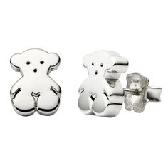 TOUS Bear studs. Cant justify spending that much on tiny silver studs personally, but so cute.