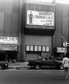 Goodhope Cinema. 1st cinema where blacks were allowed to enter. It used to cost 10 rands to watch 3 movies