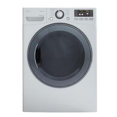 LG Electronics 7.4 cu. ft. Electric Dryer with Steam in White-DLEX3570W at The Home Depot