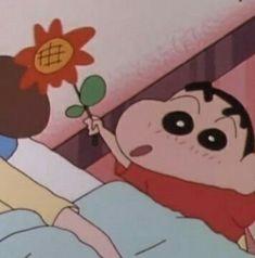 Sinchan Cartoon, Vintage Cartoon, Sinchan Wallpaper, Cartoon Wallpaper, Aesthetic Memes, Aesthetic Anime, Ghibli, Dumb Photos, Crayon Heart