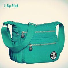 36444cb72a 2016 New Waterproof Nylon women messenger bags 100% Original Kiple Style  Casual Clutch Carteira Female