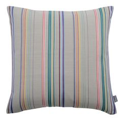 Heal's 1810 Cushion in Felix's Stripe by Paul Vogel.