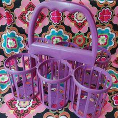 Hilarious purple bottle rack, now in our shop.