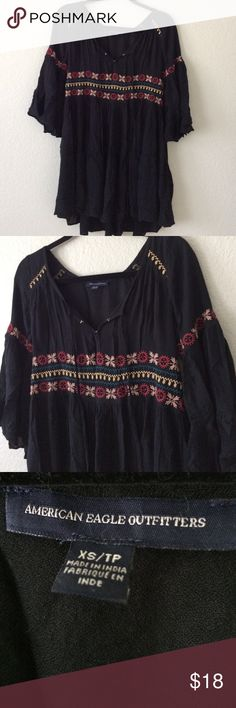 American Eagle Boho Dress No trades, no holds, no modeling, posh only! 💕 American Eagle Outfitters Dresses