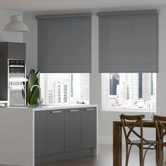 Select Fabric Light Filtering Roller Shades | SelectBlinds Room Darkening Shades, Light Filter, Roller Shades, The Selection, Curtains, Modern, Fabric, Studio, Home Decor