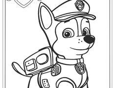 descargar gratis dibujos para colorear - paw patrol   cumpleaños   paw patrol para colorear