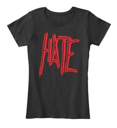 """HATE T-SHIRT METAL MUSIC T-SHIRTS 