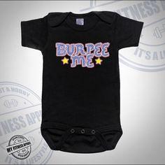 Funny Baby Onesie | Workout Onesie | Burpee Me | Cute Onesie | Unisex Baby Onesie | Funny Onesie | Baby Bodysuit | Workout Onesie by MyFitnessApparel on Etsy