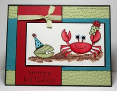 Snappy Birthday Challenge by Kauai17 - Cards and Paper Crafts at Splitcoaststampers