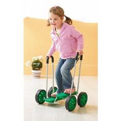 This is a really popular toy in my school! Great for children who don't have the skills to cycle but have outgrown foot-to-floor riding toys