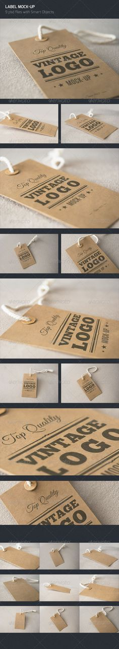 Vintage Label - Logo Mock Up