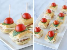 At a modern afternoon tea, snacks that require forks and knives are out and finger food is in. Tiny sandwiches are much easier to eat and pair perfectly with afternoon tea.