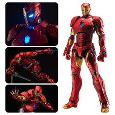 Iron Man Shape Changing Armor Re: Edit Light-Up Action Figure