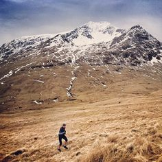 Arc'athlete Murray Strain testing the 2013 Endorphin line at Ben Lui.