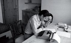 I often wish I had a special space in which to write my books. Sadly, the writing life doesn't always come equipped with an idyllic woodland cabin in which to pen profound prose. For all the authors… Lesson Plan Format, Pier Paolo Pasolini, Art Quotes, Inspirational Quotes, Room Of One's Own, Book People, Political Figures, Agatha Christie, Film Director