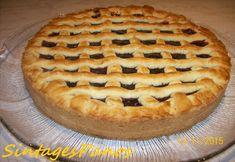 Vegan Desserts, Vegan Recipes, Vegan Food, Cookie Dough Pie, Meals Without Meat, Sweet Cooking, Fruit Pie, Sweet And Salty, Greek Recipes