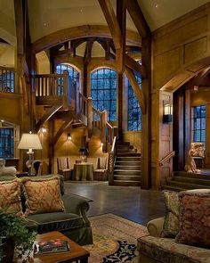 Absolutely in love with this fabulous mansion interior! Gives me log cabin feels! #fashion #fashions #fashionart #fashionweek #fashionblogger #womensfashion #mensfashion #mensstyle #menswear #watches #paris #france #french #newyork #newyorkcity #nyc #photography #photographer #travel #travelphotography #travelblogger #style #styleblogger #luxurylifestyle #lux #luxury #luxurycars #luxuryhomes #luxuryrealestate #realestate @misslimegreen - posted by SC: LIMEGREENMODEL…