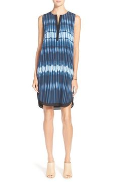 Vince Tie Dye Sleeveless Layer Dress available at #Nordstrom