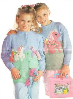 My Little Pony knitting pattern jumper and by PennyPatterns
