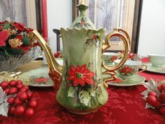 Poinsettia china | George Zoltan Lefton died in 1996 in Florida. His company was sold in ...