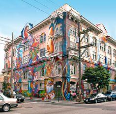 San Francisco Women's Building  3543 18th Street Between Valencia and Guerrero