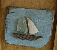 Driftwood art - simple, cute idea! @Mallory Puentes Puentes Cummins this makes me think of Papa!!!