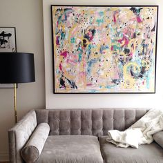 We will be moving next month & I am selling the large original painting I did for my home,...
