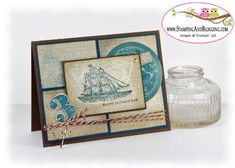 The Open Sea Father's Day Card by SandiMac - Cards and Paper Crafts at Splitcoaststampers