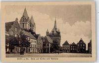 4242 Rees Kirche Rathaus