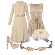 Femminilità neo-classica. Ecco un nuovo outfit scelto per voi! #outfit #fashion #jewels #look #donna #stile #trendy #cipra #classico