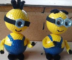 Minions made from golf balls. | Minions Movie | In Theaters July 10th