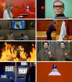 FAHRENHEIT 451 by François Truffaut, 1966. Francois Truffaut, Fahrenheit 451, Film Images, What Book, French Films, Cinema, Baseball Cards, Books, Movies