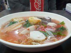 Rainbow noodles @ Thailand Roadside (泰國路邊街美食), Kowloon City