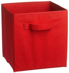 ClosetMaid 8656 Fabric Drawer, Red Fabric Drawers, Closet System, Closet Storage, Playroom