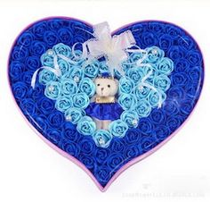 92 Rose Soap Flowers Classic Blue.  For Only $67.99
