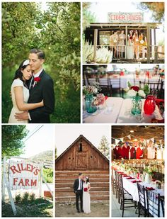 Unique Southern California wedding venues on I Do Venues - Riley's Farm shot by Matthew Morgan Photography.