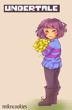 Greetings! I am the Undertale fandom! I'm not really that old, so I would love to get to know you! (She has 3 different versions of herself. Grimdark=Genocide Mode, Normal=Neutra Model, and maybe Trickster=Pacifist Mode?)