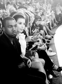 Mr. West is in the building.