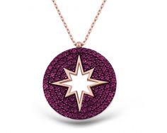 Gümüş Pembe Kutup Yıldızı Kolye  Satın Al >> http://www.7gunpazari.com/Gumus-Pembe-Kutup-Yildizi-Kolye,PR-852166.html  WhatsApp: 0544 219 15 75