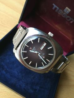 Vintage Tissot Seastar Automatic Day Date - Boxed